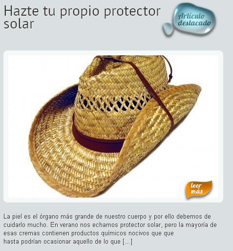 Protege tu piel sin químicos