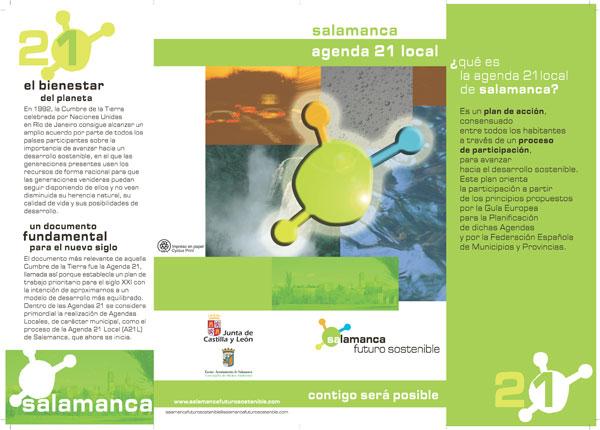 Folleto sobre el medio ambiente folletos medio ambiente for Affordable furniture gonzales la