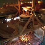 Escenografía y reproducción de molino funcional escala 1:1. Museo del Pan de Mayorga