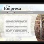Página web. Siccina