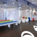 Diseño gráfico interior trailer TDTeca