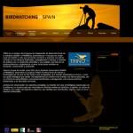Diseño web, programación y gestor de contenidos de Trino. Turismo ornitológico