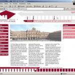 Diseño página web. 250 aniversarios Plaza Mayor de Salamanca