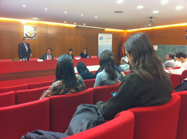 Presentación regional de foro ingenio en Valladolid