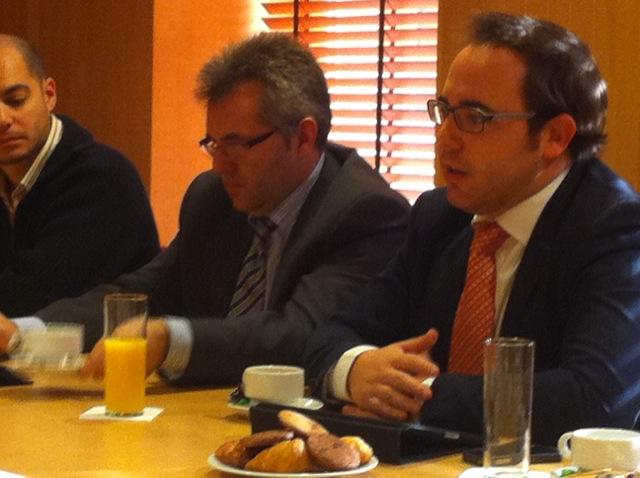 Desayuno tecnológico de AESAI con el Concejal de Nuevas Tecnologías del Ayuntamiento de Salamanca
