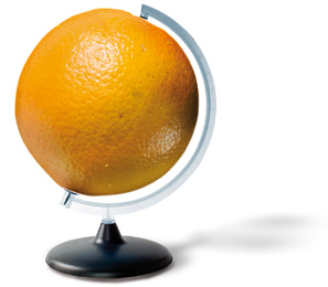 El naranja es sostenible