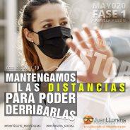 MANTENGAMOS LAS DISTANCIAS… PARA PODER DERRIBARLAS