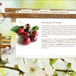 Diseño y desarrollo página web. Cerezas de Salamanca