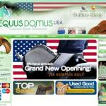 Tienda on line y diseño web. Equus Domus On-Line USA