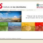 Diseño página web del Instituto de las Identidades. Diputación de Salamanca