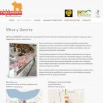 Diseño y desarrollo página web. Meva y Llorente