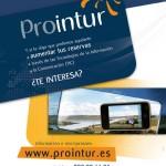Publicidad página web de Prointur. www.prointur.com