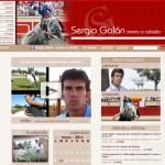 Diseño y desarrollo informático página web de Sergio Galán