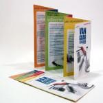 Diseño de folleto Vanguarclasidia. Jóvenes Creadores