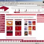 Diseño página web. Salamanca 2005. Plaza Mayor de Europa